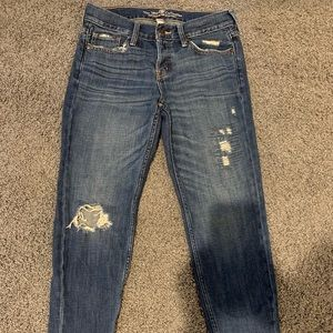 Abercrombie and Fitch Boyfriend Standard sz 0 reg